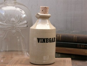Jug of vinegar